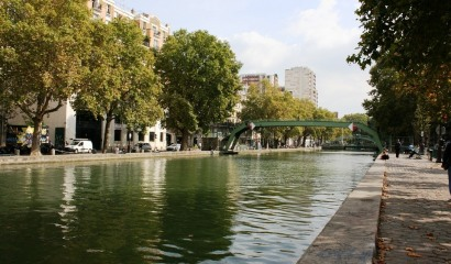 An unusual cruise in Paris on the Canal Saint Martin
