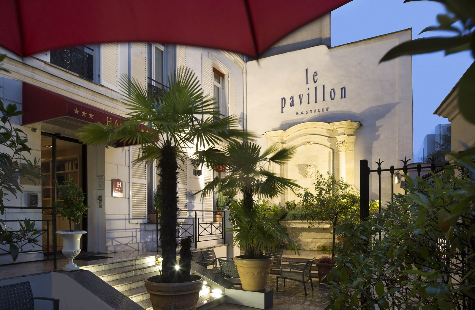 Hotel pavillon bastille site officiel hotels paris for Bastille hotel