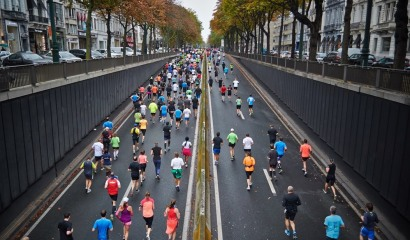 The Paris Marathon; get ready for the start